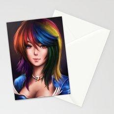 Rainbowdash Stationery Cards