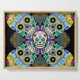 Sugar Skulls Serving Tray