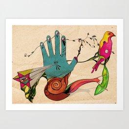 Creador Art Print
