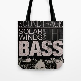 Silence was the soundtrack Tote Bag