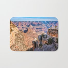 Morning at Bright Angel Trail - Grand Canyon Bath Mat