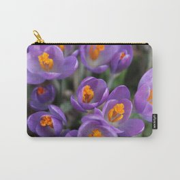 Bunch of Crocus Carry-All Pouch