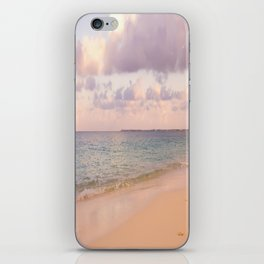 Dreamy Beach View iPhone Skin
