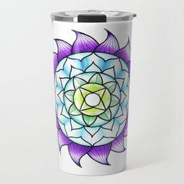 Ombré Mandala Travel Mug