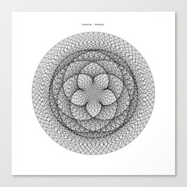 Venus Flower Canvas Print