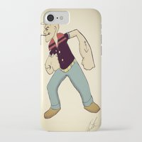 popeye iPhone & iPod Cases featuring Popeye by Arthur Smith