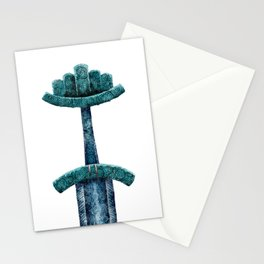 Viking sword Stationery Cards