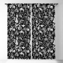 Arabian Nights // Black Blackout Curtain