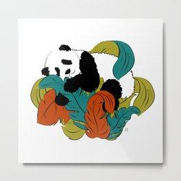 Wildlife Panda Metal Print