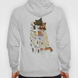 Kiss Klimt Cats Hoody