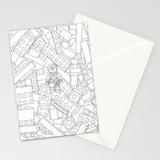 The Lego Movie —Colouring Book Version Stationery Cards