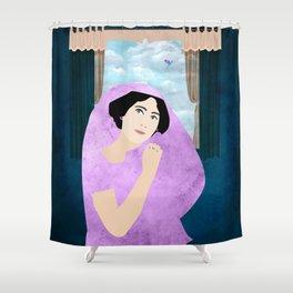 Empress In sari Shower Curtain