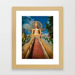 Lord Buddha Framed Art Print