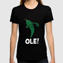 Dabbing Jalapeno Ole! Funny Cinco De Mayo Dab T-shirt