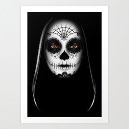 Das Gesicht Art Print