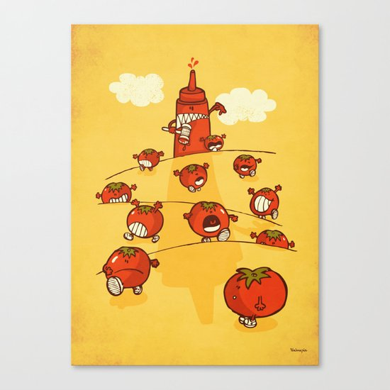 We were tomatoes! Canvas Print
