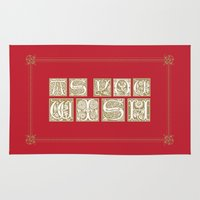 princess bride Area & Throw Rugs featuring The Princess Bride by MacGuffin Designs