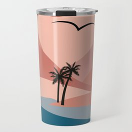 Island Flight Pattern Travel Mug