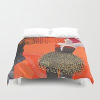 shadow Duvet Covers featuring Shadow by doviArt