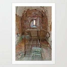 Serpent Prison Cell Art Print