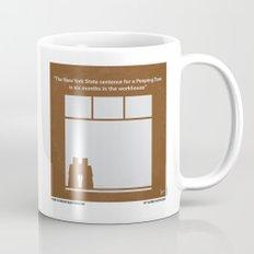 No238 My Rear window minimal movie poster Mug