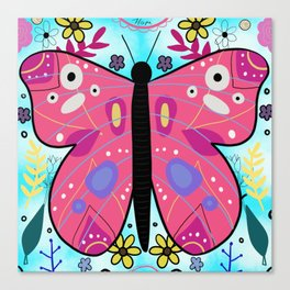 Butterfly of Change Canvas Print