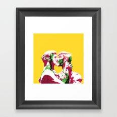 Maneater Framed Art Print