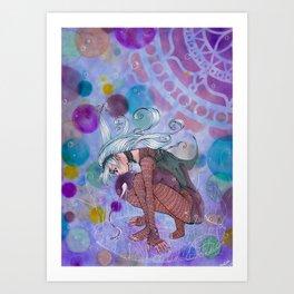 Witching Art Print