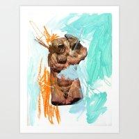 Composition 450 Art Print