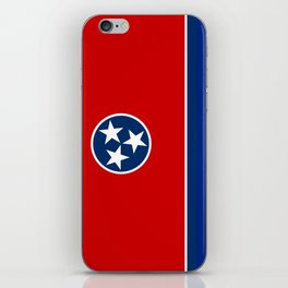 State flag of Tennessee - Authentic version iPhone Skin