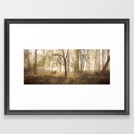 Get Out There Framed Art Print