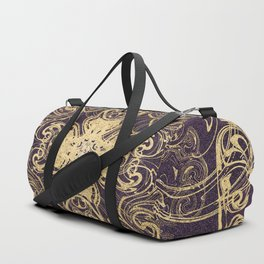 Royal Gold Duffle Bag