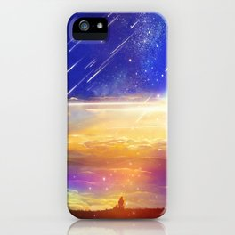Waiting for a New Day iPhone Case