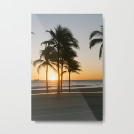 Fort Lauderdale at sunrise Metal Print