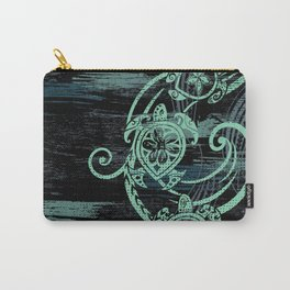 Abstract Tribal Turtles Carry-All Pouch