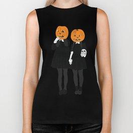 Pumpkin Heads Biker Tank