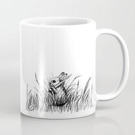 A Bunny. With a Sword. Coffee Mug