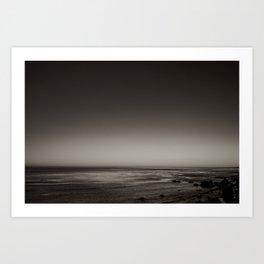 Sea of Gray Art Print
