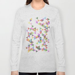 Technicolour Raindrops Long Sleeve T-shirt