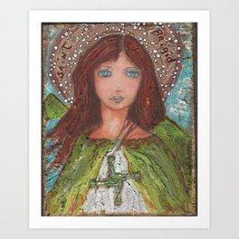 Saint Brigid Art Print