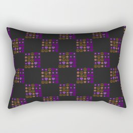 Halloween Patchwork Weave Rectangular Pillow