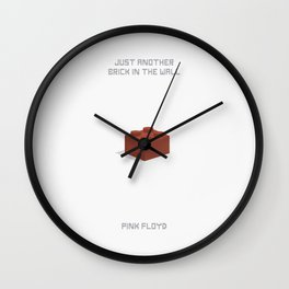 Just another brick in the wall Wall Clock