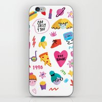 90s iPhone & iPod Skins featuring 90s by melissa chaib