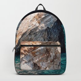 Grotto and Turquoise Sea Backpack