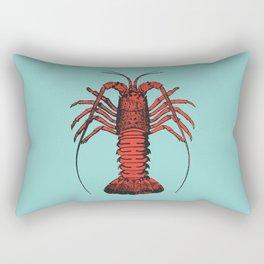 Spiny Lobster Rectangular Pillow