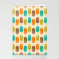 popsicle Stationery Cards featuring Popsicle by Liz Urso