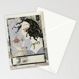 La Boheme Paris Art Deco Stationery Cards