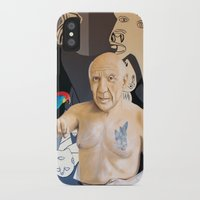 picasso iPhone & iPod Cases featuring Picasso by Matthew Lake