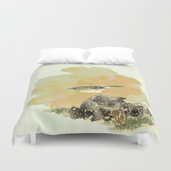 Oh !To be a bird! Duvet Cover