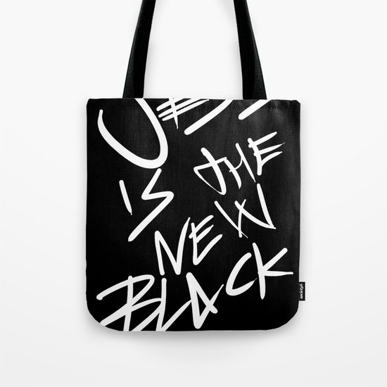 Jesus is the New Black Tote Bag